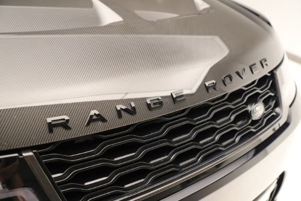 Used 2019 Land Rover Range Rover Sport SVR for sale Sold at Alfa Romeo of Greenwich in Greenwich CT 06830 24