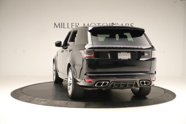 Used 2019 Land Rover Range Rover Sport SVR for sale Sold at Alfa Romeo of Greenwich in Greenwich CT 06830 5