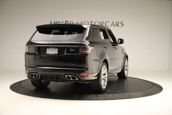 Used 2019 Land Rover Range Rover Sport SVR for sale Sold at Alfa Romeo of Greenwich in Greenwich CT 06830 7
