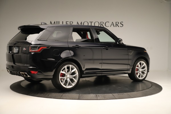 Used 2019 Land Rover Range Rover Sport SVR for sale Sold at Alfa Romeo of Greenwich in Greenwich CT 06830 8