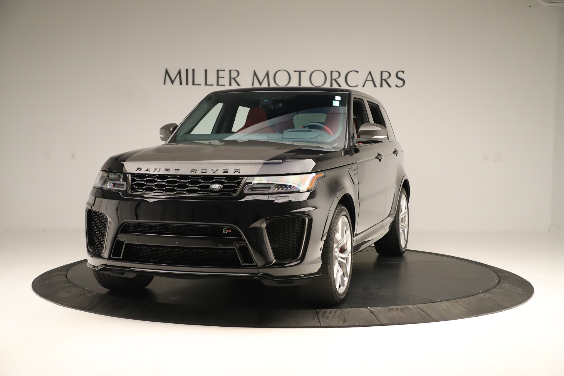 Used 2019 Land Rover Range Rover Sport SVR for sale Sold at Alfa Romeo of Greenwich in Greenwich CT 06830 1
