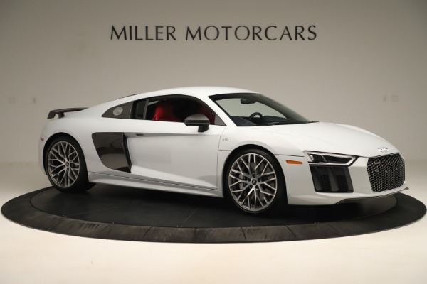 Used 2018 Audi R8 5.2 quattro V10 Plus for sale Sold at Alfa Romeo of Greenwich in Greenwich CT 06830 10