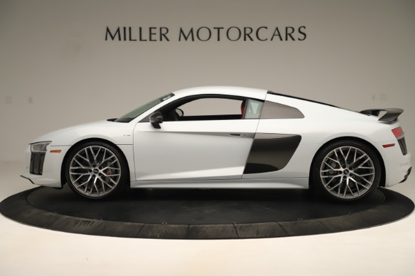 Used 2018 Audi R8 5.2 quattro V10 Plus for sale Sold at Alfa Romeo of Greenwich in Greenwich CT 06830 3