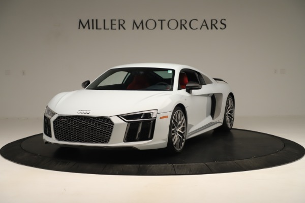 Used 2018 Audi R8 5.2 quattro V10 Plus for sale Sold at Alfa Romeo of Greenwich in Greenwich CT 06830 1