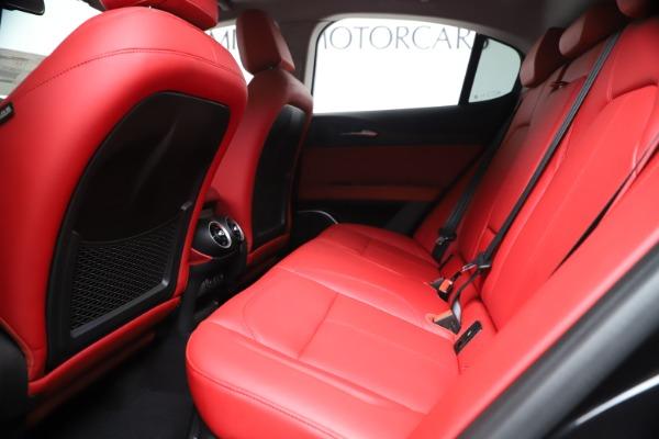 New 2019 Alfa Romeo Stelvio Ti Q4 for sale Sold at Alfa Romeo of Greenwich in Greenwich CT 06830 19