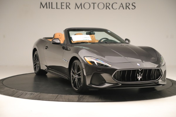 New 2019 Maserati GranTurismo Sport Convertible for sale $163,845 at Alfa Romeo of Greenwich in Greenwich CT 06830 11