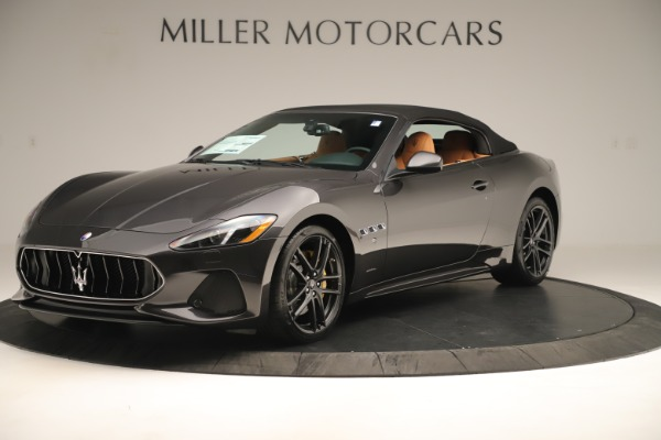 New 2019 Maserati GranTurismo Sport Convertible for sale $163,845 at Alfa Romeo of Greenwich in Greenwich CT 06830 13