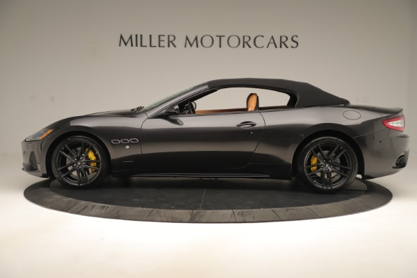 New 2019 Maserati GranTurismo Sport Convertible for sale $163,845 at Alfa Romeo of Greenwich in Greenwich CT 06830 14