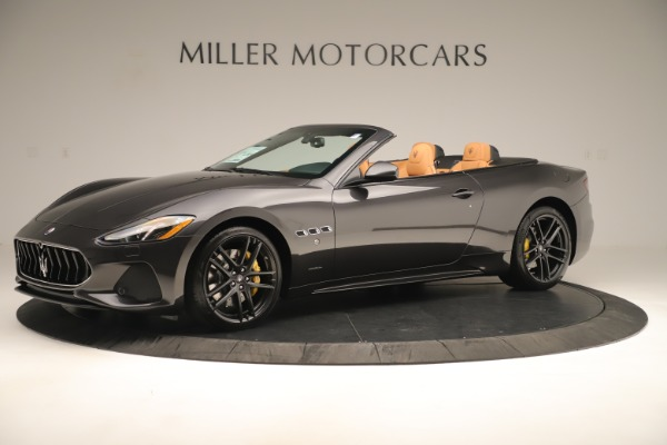 New 2019 Maserati GranTurismo Sport Convertible for sale $163,845 at Alfa Romeo of Greenwich in Greenwich CT 06830 2
