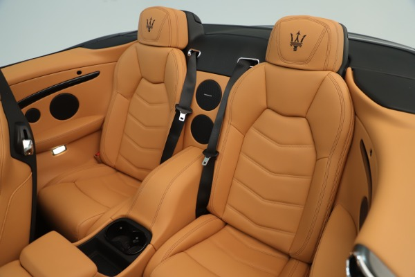 New 2019 Maserati GranTurismo Sport Convertible for sale $163,845 at Alfa Romeo of Greenwich in Greenwich CT 06830 23