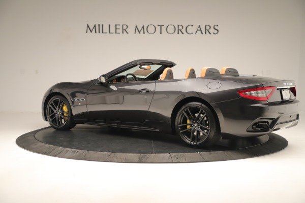 New 2019 Maserati GranTurismo Sport Convertible for sale $163,845 at Alfa Romeo of Greenwich in Greenwich CT 06830 4