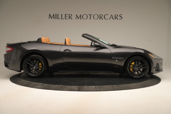 New 2019 Maserati GranTurismo Sport Convertible for sale $163,845 at Alfa Romeo of Greenwich in Greenwich CT 06830 9