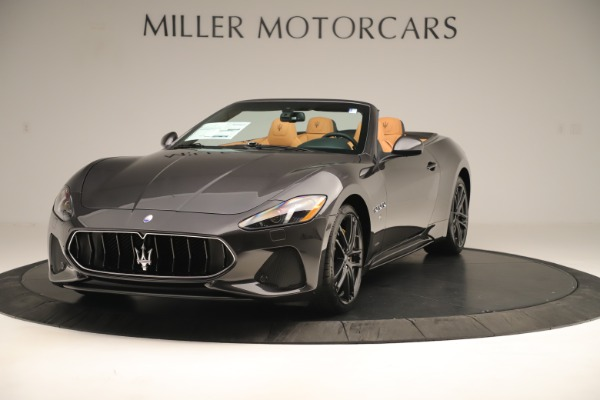 New 2019 Maserati GranTurismo Sport Convertible for sale $163,845 at Alfa Romeo of Greenwich in Greenwich CT 06830 1
