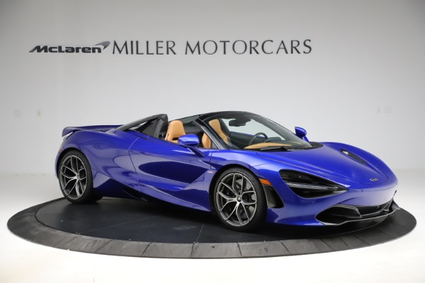 New 2020 McLaren 720S SPIDER Convertible for sale $374,830 at Alfa Romeo of Greenwich in Greenwich CT 06830 10