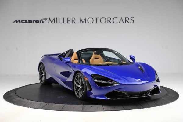 New 2020 McLaren 720S SPIDER Convertible for sale $374,830 at Alfa Romeo of Greenwich in Greenwich CT 06830 11