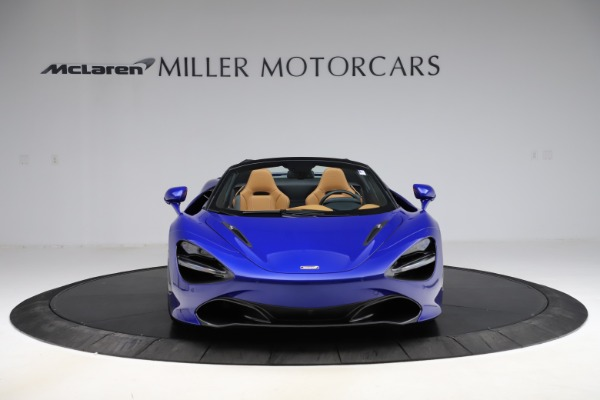 New 2020 McLaren 720S SPIDER Convertible for sale $374,830 at Alfa Romeo of Greenwich in Greenwich CT 06830 12