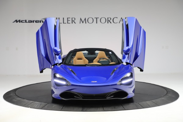 New 2020 McLaren 720S SPIDER Convertible for sale $374,830 at Alfa Romeo of Greenwich in Greenwich CT 06830 13