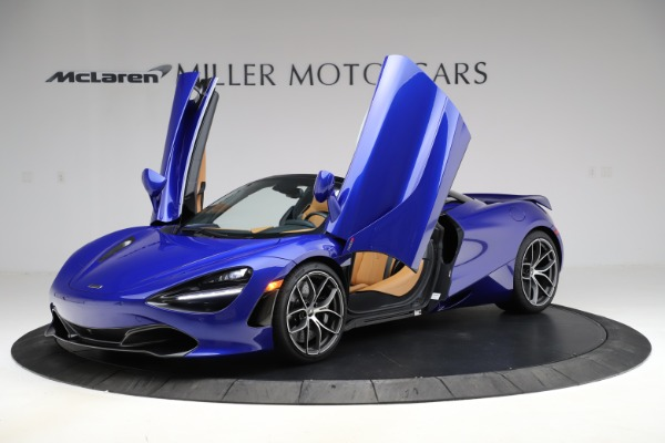 New 2020 McLaren 720S SPIDER Convertible for sale $374,830 at Alfa Romeo of Greenwich in Greenwich CT 06830 14