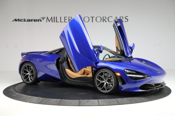 New 2020 McLaren 720S SPIDER Convertible for sale $374,830 at Alfa Romeo of Greenwich in Greenwich CT 06830 15