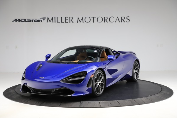 New 2020 McLaren 720S SPIDER Convertible for sale $374,830 at Alfa Romeo of Greenwich in Greenwich CT 06830 16