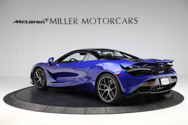 New 2020 McLaren 720S SPIDER Convertible for sale $374,830 at Alfa Romeo of Greenwich in Greenwich CT 06830 18