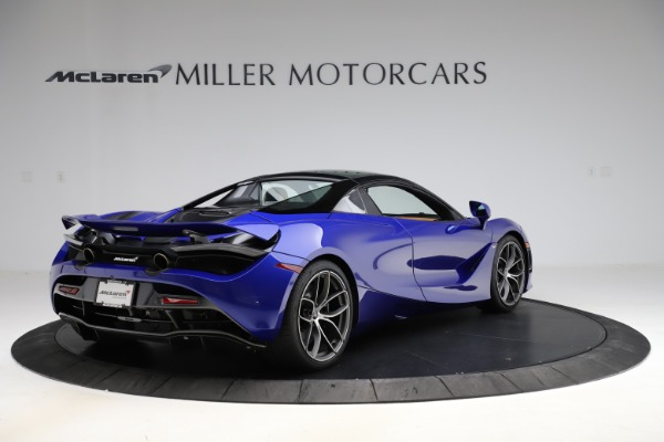 New 2020 McLaren 720S SPIDER Convertible for sale $374,830 at Alfa Romeo of Greenwich in Greenwich CT 06830 19