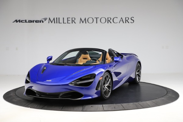 New 2020 McLaren 720S SPIDER Convertible for sale $374,830 at Alfa Romeo of Greenwich in Greenwich CT 06830 2