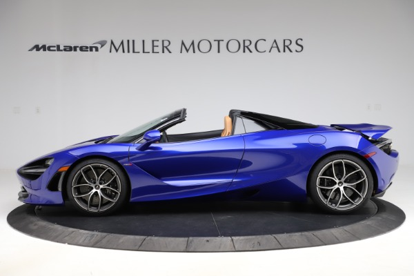 New 2020 McLaren 720S SPIDER Convertible for sale $374,830 at Alfa Romeo of Greenwich in Greenwich CT 06830 3