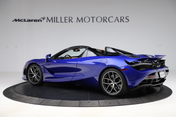 New 2020 McLaren 720S SPIDER Convertible for sale $374,830 at Alfa Romeo of Greenwich in Greenwich CT 06830 4