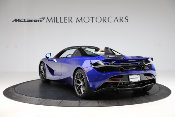 New 2020 McLaren 720S SPIDER Convertible for sale $374,830 at Alfa Romeo of Greenwich in Greenwich CT 06830 5