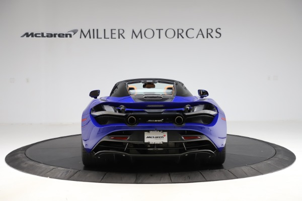 New 2020 McLaren 720S SPIDER Convertible for sale $374,830 at Alfa Romeo of Greenwich in Greenwich CT 06830 6