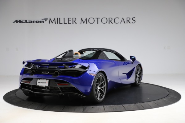 New 2020 McLaren 720S SPIDER Convertible for sale $374,830 at Alfa Romeo of Greenwich in Greenwich CT 06830 7