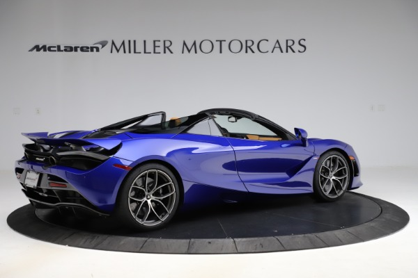 New 2020 McLaren 720S SPIDER Convertible for sale $374,830 at Alfa Romeo of Greenwich in Greenwich CT 06830 8