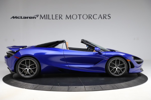 New 2020 McLaren 720S SPIDER Convertible for sale $374,830 at Alfa Romeo of Greenwich in Greenwich CT 06830 9