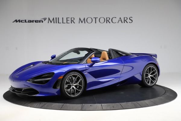 New 2020 McLaren 720S SPIDER Convertible for sale $374,830 at Alfa Romeo of Greenwich in Greenwich CT 06830 1