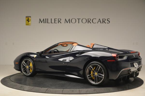 Used 2018 Ferrari 488 Spider for sale $286,900 at Alfa Romeo of Greenwich in Greenwich CT 06830 4