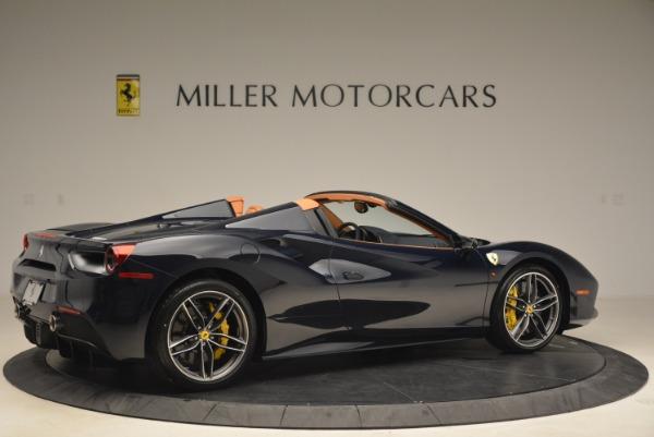 Used 2018 Ferrari 488 Spider for sale Sold at Alfa Romeo of Greenwich in Greenwich CT 06830 8