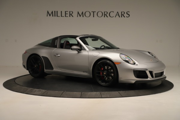 Used 2017 Porsche 911 Targa 4 GTS for sale Sold at Alfa Romeo of Greenwich in Greenwich CT 06830 10