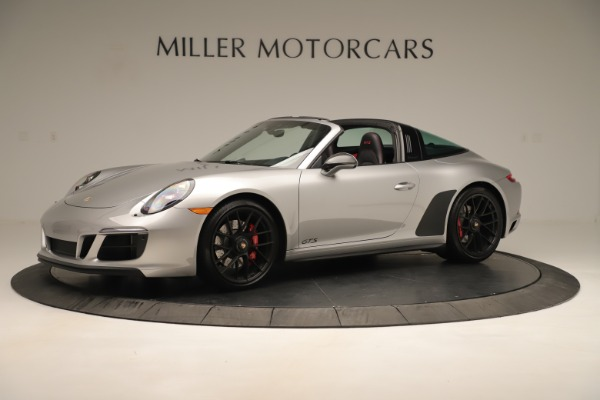 Used 2017 Porsche 911 Targa 4 GTS for sale Sold at Alfa Romeo of Greenwich in Greenwich CT 06830 2