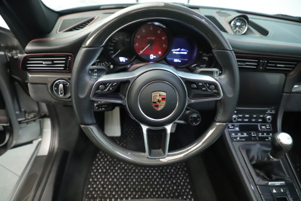Used 2017 Porsche 911 Targa 4 GTS for sale Sold at Alfa Romeo of Greenwich in Greenwich CT 06830 25