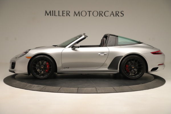 Used 2017 Porsche 911 Targa 4 GTS for sale Sold at Alfa Romeo of Greenwich in Greenwich CT 06830 3