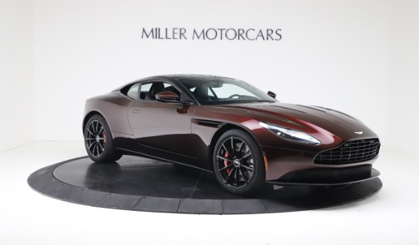 New 2019 Aston Martin DB11 V12 AMR Coupe for sale $263,916 at Alfa Romeo of Greenwich in Greenwich CT 06830 10