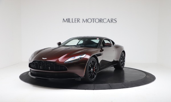 New 2019 Aston Martin DB11 V12 AMR Coupe for sale $263,916 at Alfa Romeo of Greenwich in Greenwich CT 06830 2