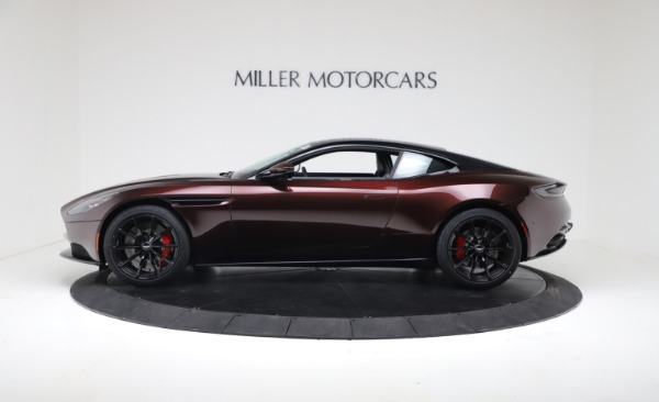 New 2019 Aston Martin DB11 V12 AMR Coupe for sale $263,916 at Alfa Romeo of Greenwich in Greenwich CT 06830 3