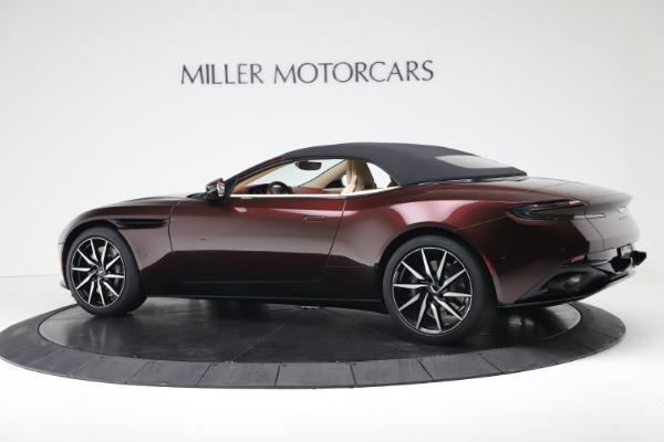 New 2020 Aston Martin DB11 Volante Convertible for sale Sold at Alfa Romeo of Greenwich in Greenwich CT 06830 16