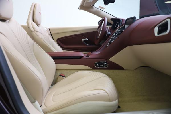 Used 2020 Aston Martin DB11 Volante Convertible for sale Sold at Alfa Romeo of Greenwich in Greenwich CT 06830 25