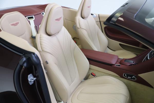 Used 2020 Aston Martin DB11 Volante for sale Sold at Alfa Romeo of Greenwich in Greenwich CT 06830 26