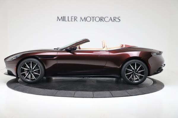 New 2020 Aston Martin DB11 Volante Convertible for sale Sold at Alfa Romeo of Greenwich in Greenwich CT 06830 3