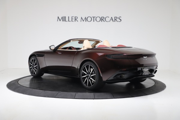 Used 2020 Aston Martin DB11 Volante Convertible for sale Sold at Alfa Romeo of Greenwich in Greenwich CT 06830 4