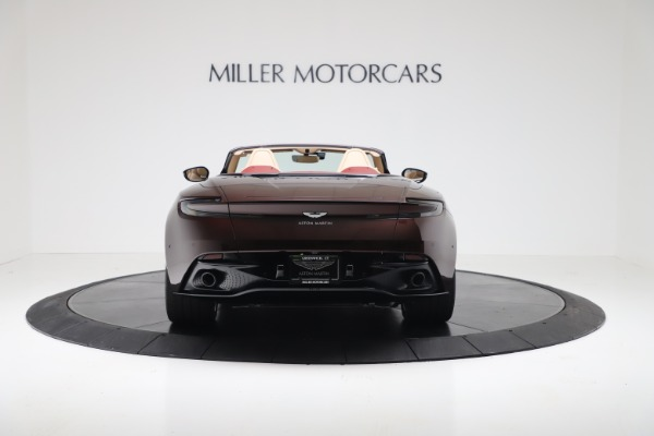 Used 2020 Aston Martin DB11 Volante for sale Sold at Alfa Romeo of Greenwich in Greenwich CT 06830 5
